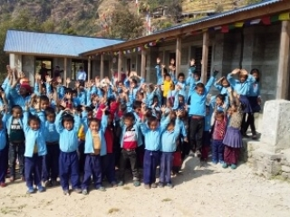 Ladap school and children