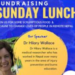Sunday Lunch with Hilary Wallace Banner